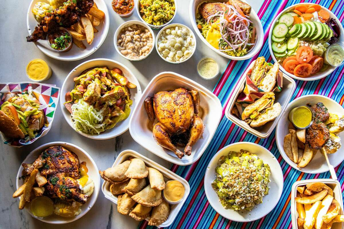 A collection of food offerings from new Peruvian restaurant, Jarnanita, located in the Marina.