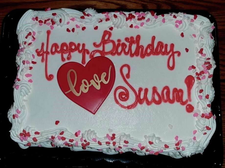 Daughter Susan's 25th birthday cake. (Courtesy photo)