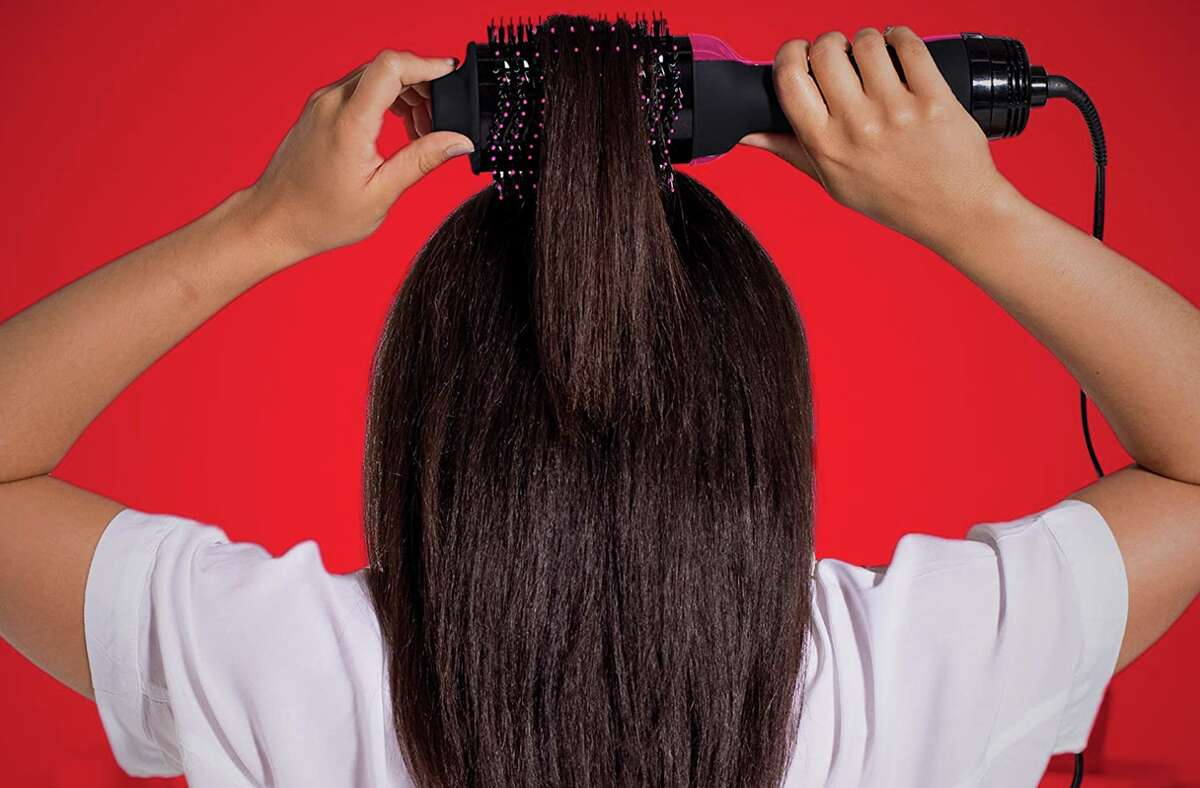 REVLON One-Step Hair Dryer And Volumizer Hot Air Brush, $41.88 at Amazon