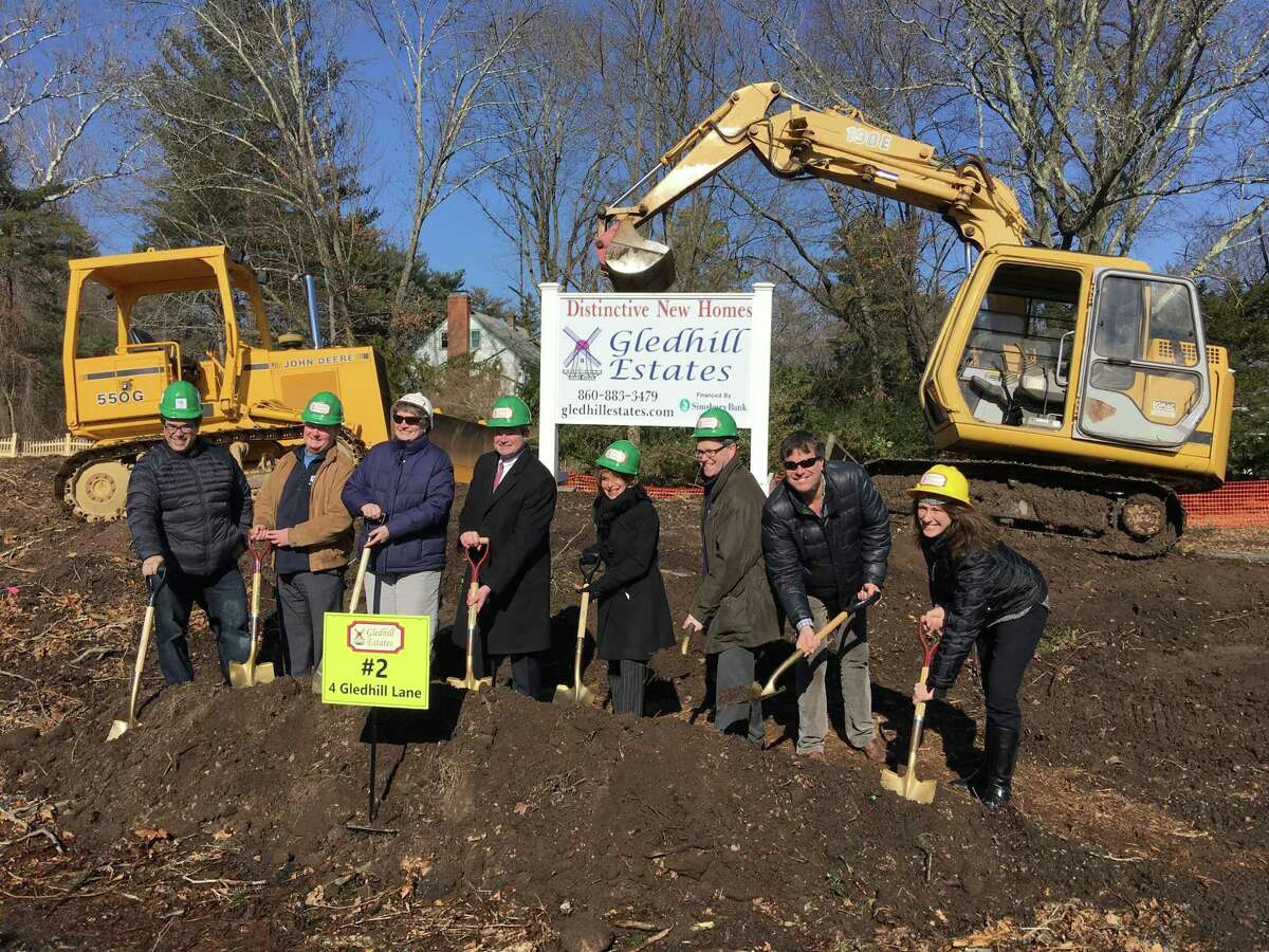 Gledhill Estates, a new neighborhood of 15 new homes located at 660 Mountain Road in West Hartford, broke ground in 2018. Steve Temkin's partnership in the development helped earn him the Builder of the Year award.