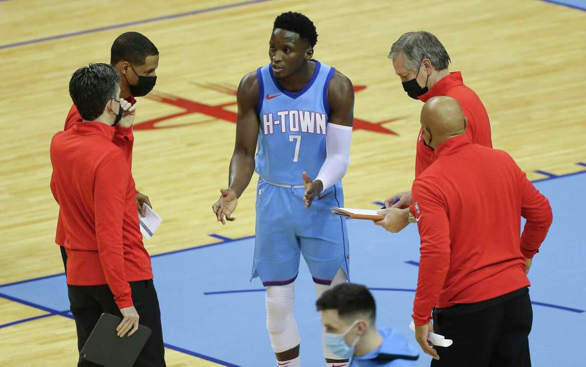 The Rockets coaches will be glad to get Victor Oladipo back on the court.
