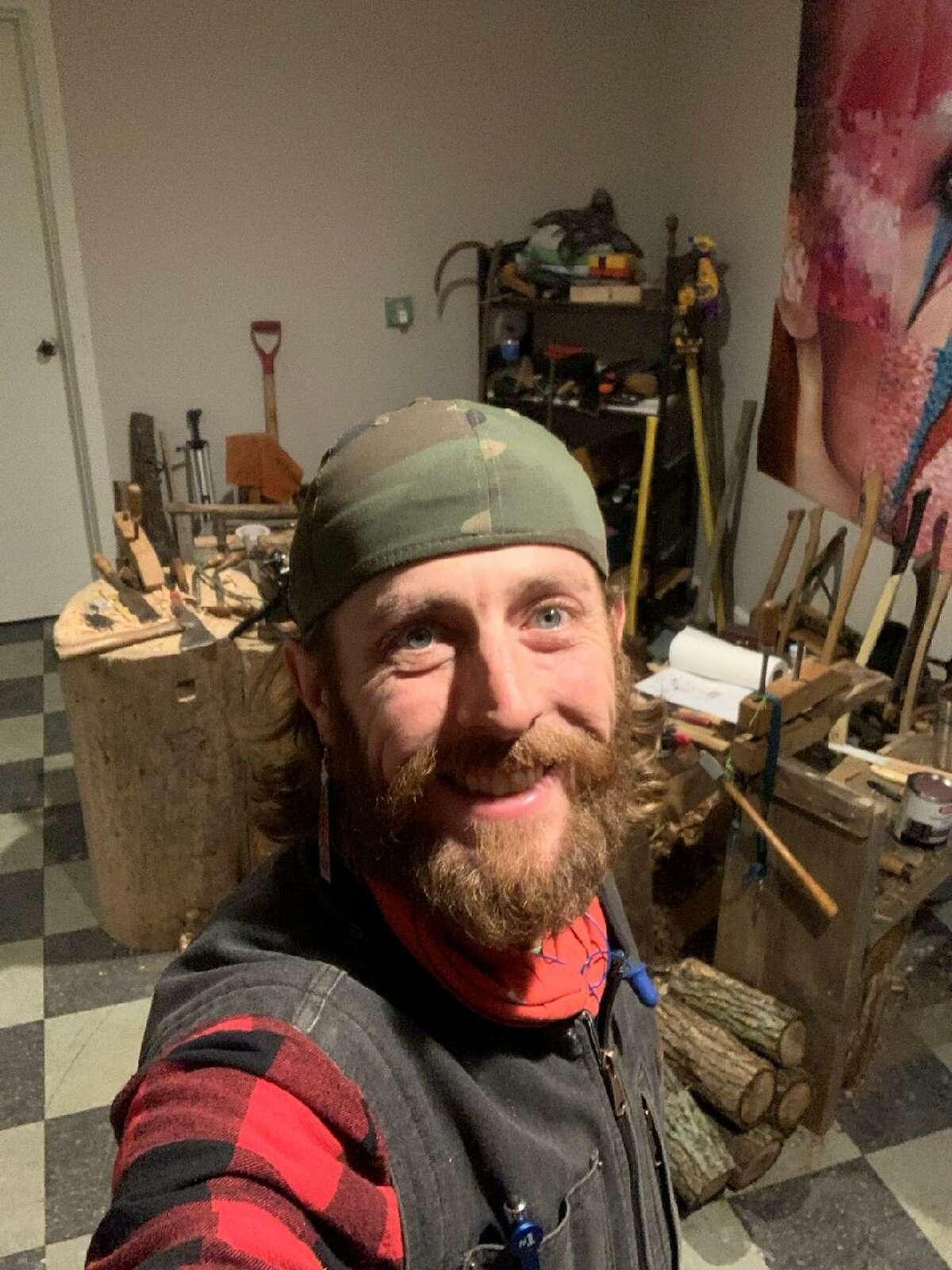 Paul-Robert Blackman is an arborist and wood artist. His studio, Artist's Tree, is opening in March.