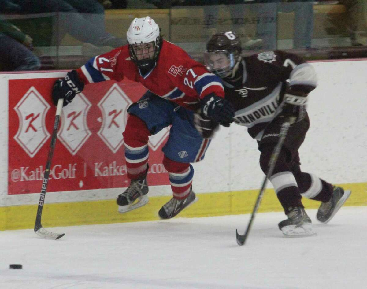 Winter sports such as ice hockey aren't allowed to have contact until Feb. 22. (Pioneer file photo)