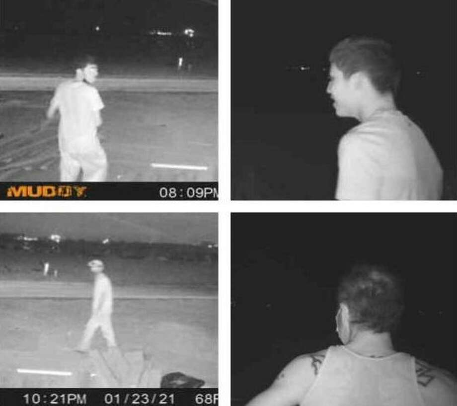 Laredo police said they need to identify these individuals in connection to a theft reported at a construction site. Photo: Courtesy Photo /Laredo Police Department