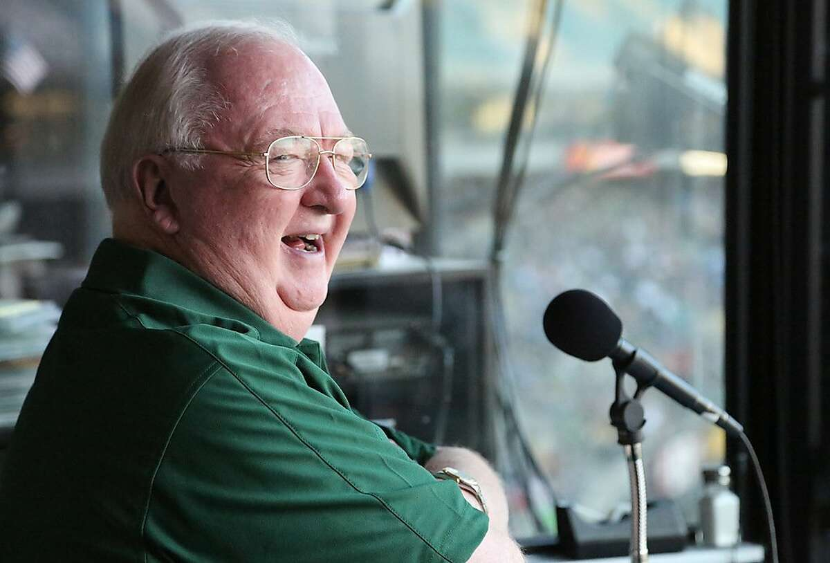 Dick Callahan started working St. Mary's games in 1975, segueing into a long career with the Warriors, Cal football and the A's.