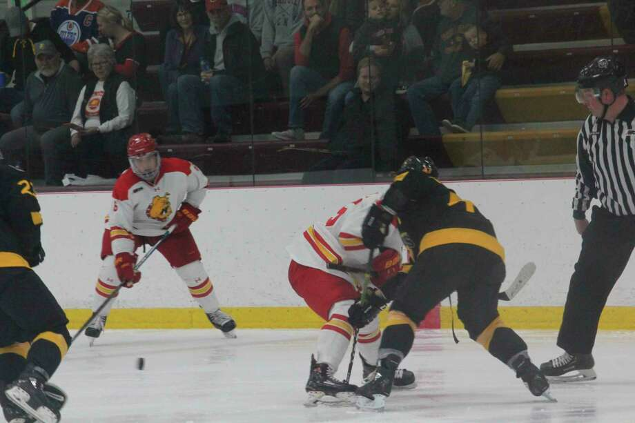 Ferris' hockey team will be playing at Northern Michigan again tonight. (Pioneer file photo)