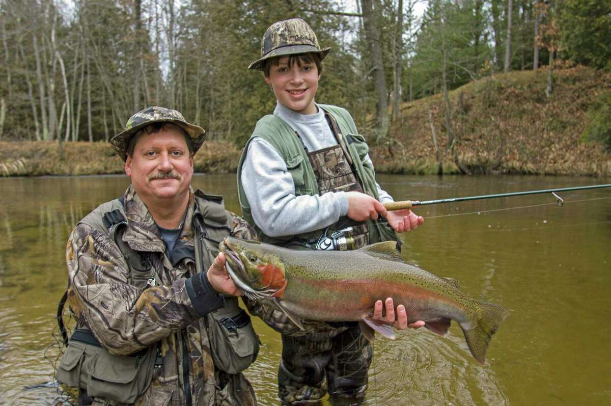A photo of father and son, Craig and Hayden Gosen, from 2007. (Craig Gosen/Courtesy Photo)
