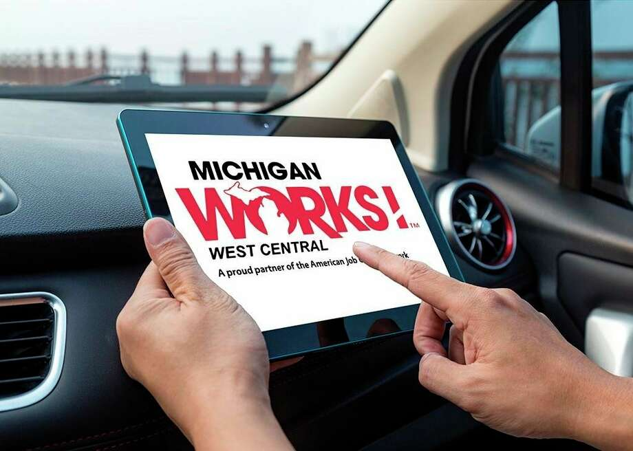 Michigan Works! West Central began offering curbside service this month. To sign up visit michworks.org. (Submitted photo)