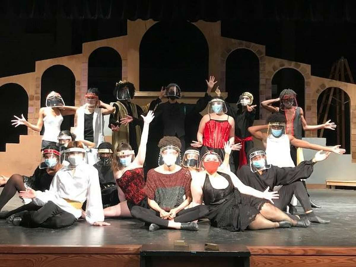The Theatre Department of Spring produced its first in-person show since COVID-19 started in Pippin late January with health and safety measures in place and plans on streaming its final performance via live recording, Feb. 18-20, for home viewing.