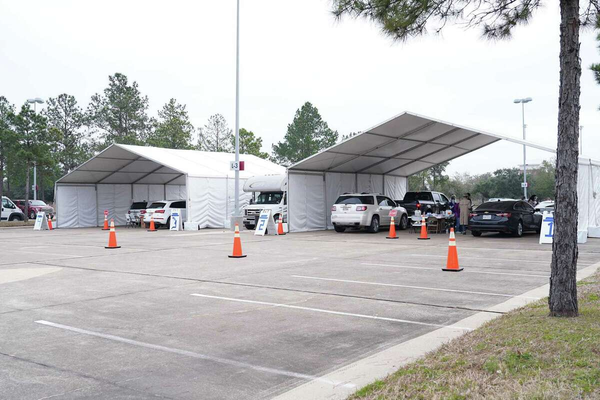 Lone Star College-CyFair was the site of a Harris County Public Health Department COVID vaccine delivery center.