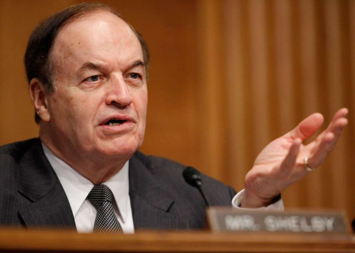 Alabama: Richard C. Shelby - Political party affiliation: Republican - Assumed Senate seat on: Jan. 3, 1987 - Years in office: 34 years, 0 months - Current term up in: 2022 - Previous office(s): U.S. House; Alabama Senate Richard Shelby became a senator in 1987, having previously served as a U.S. representative. According to GovTrack, Shelby often sponsors bills on public finance and taxes. He won reelection in 2016.