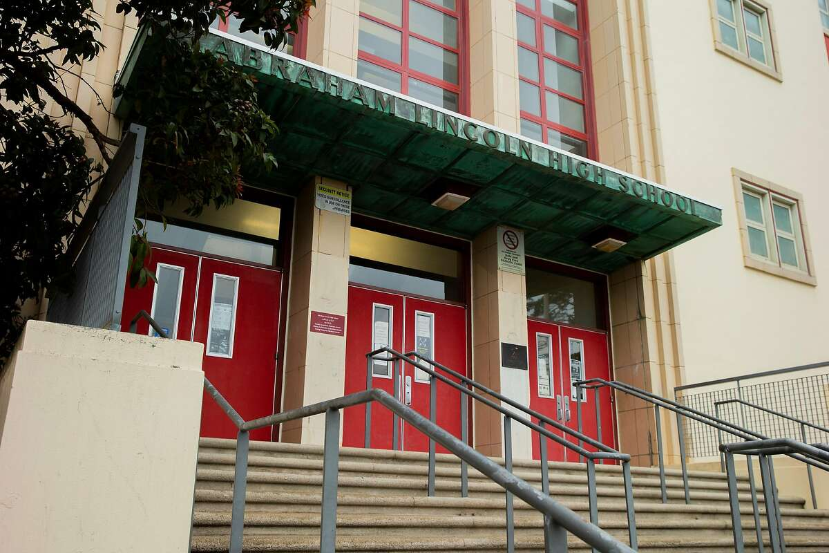 Included in the list of schools to be renamed is Abraham Lincoln High School in San Francisco.