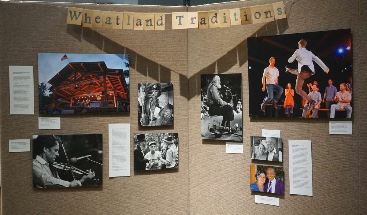 Artworks of Big Rapids is currently hosting its Blues Musicians and Wheatland Traditions display.