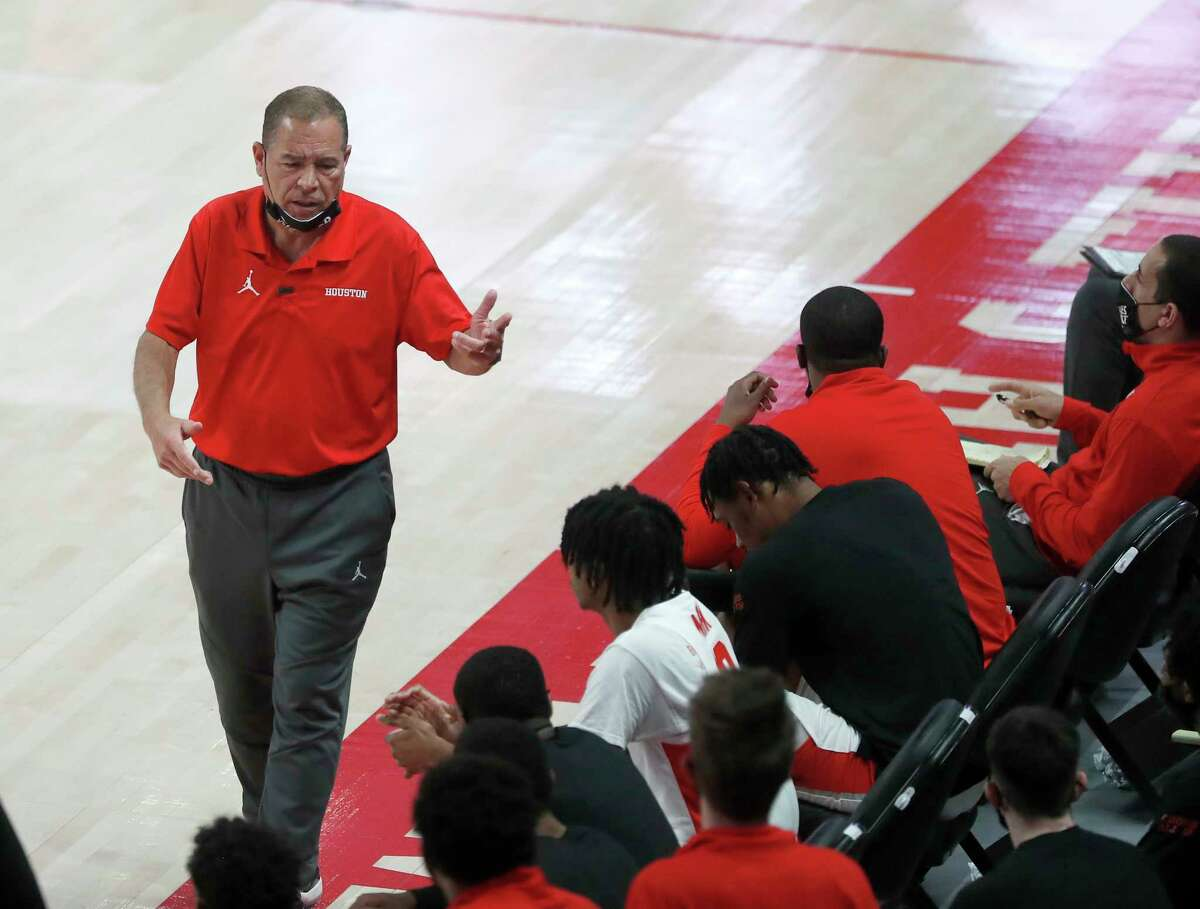 For Kelvin Sampson and the Cougars, the team's schedule is up in the air because of weather.