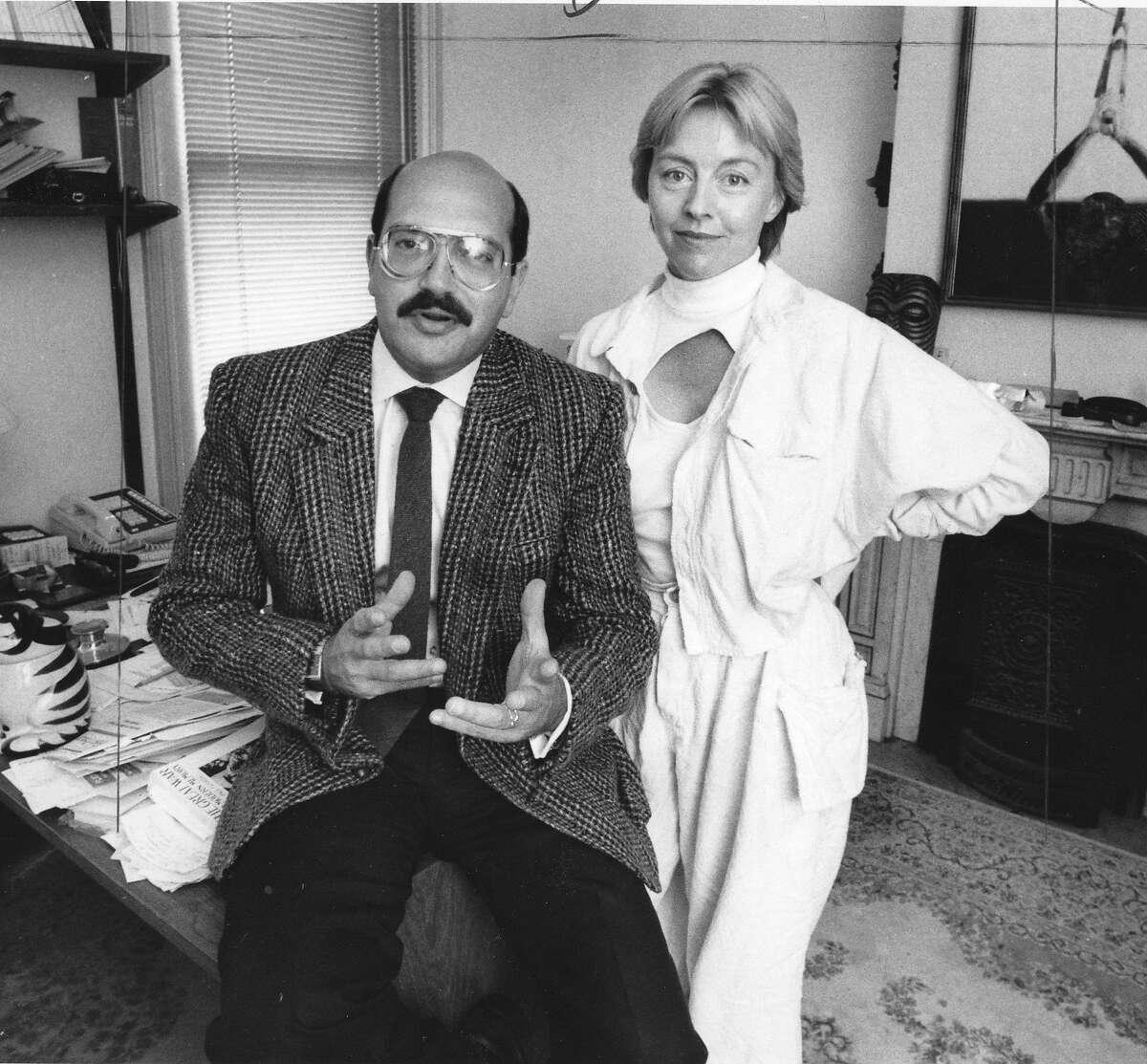Private Investigators Jack Palladino and Sandra Sutherland, August 21, 1984