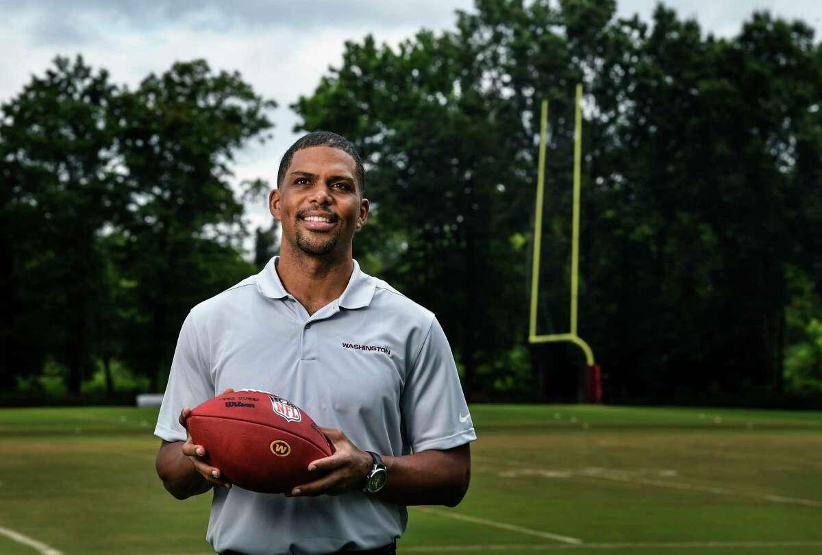 The Washington Football Team's Jason Wright is the first Black president of a National Football League team.