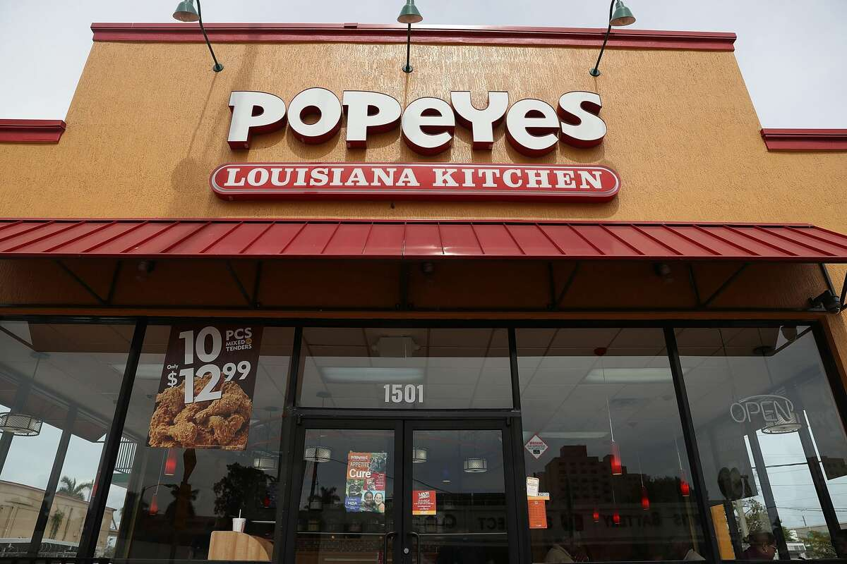 When you see this building, you already know what it is: Three-piece dinner, spicy with dirty rice and an extra biscuit. Except now, Popeyes has discontinued its Cajun Rice.