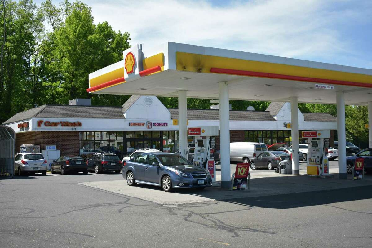 A gas station in Norwalk.