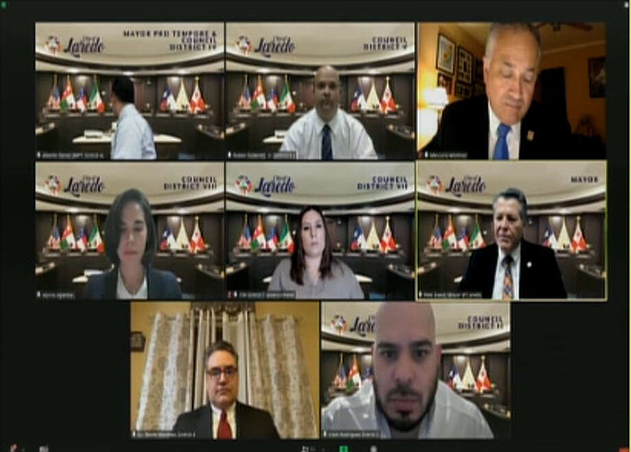 Laredo City Council will meet virtually at 5:30 p.m. Monday. Meetings are streamed live at laredotx.new.swagit.com. Photo: Courtesy Photo