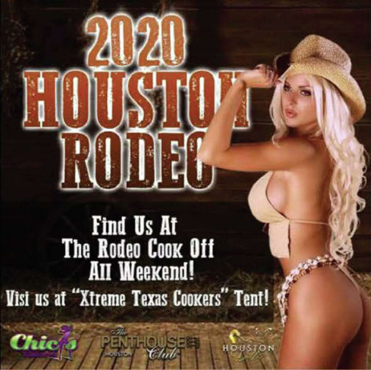 A group of models from California, Nevada, Oregon, Georgia and Texas are suing Chicas strip club saying it violated trademark law by using their images to promote events at the nude cabaret in North Houston.