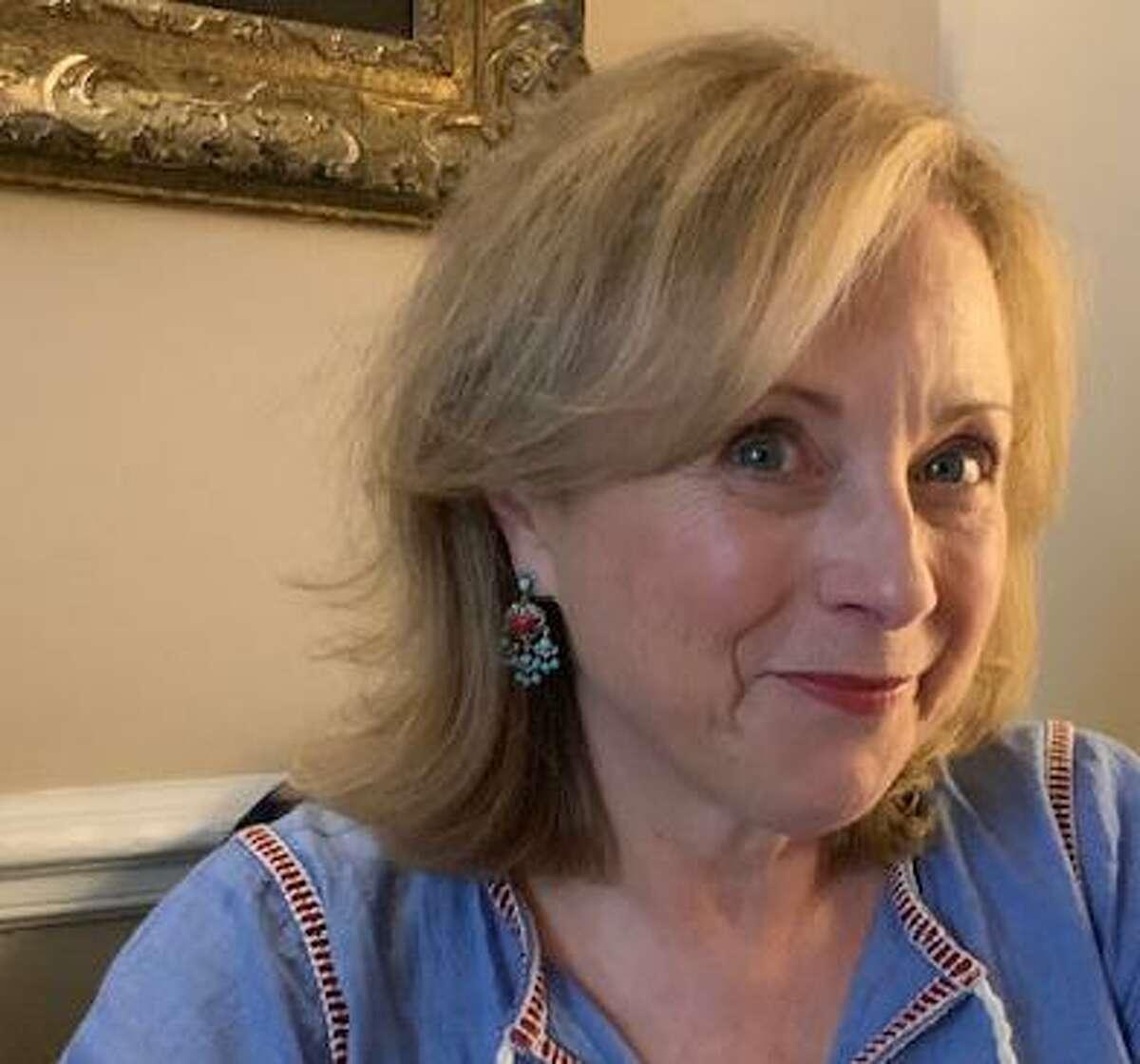 Moira McGarvey Black, 63, previewed her new novel,