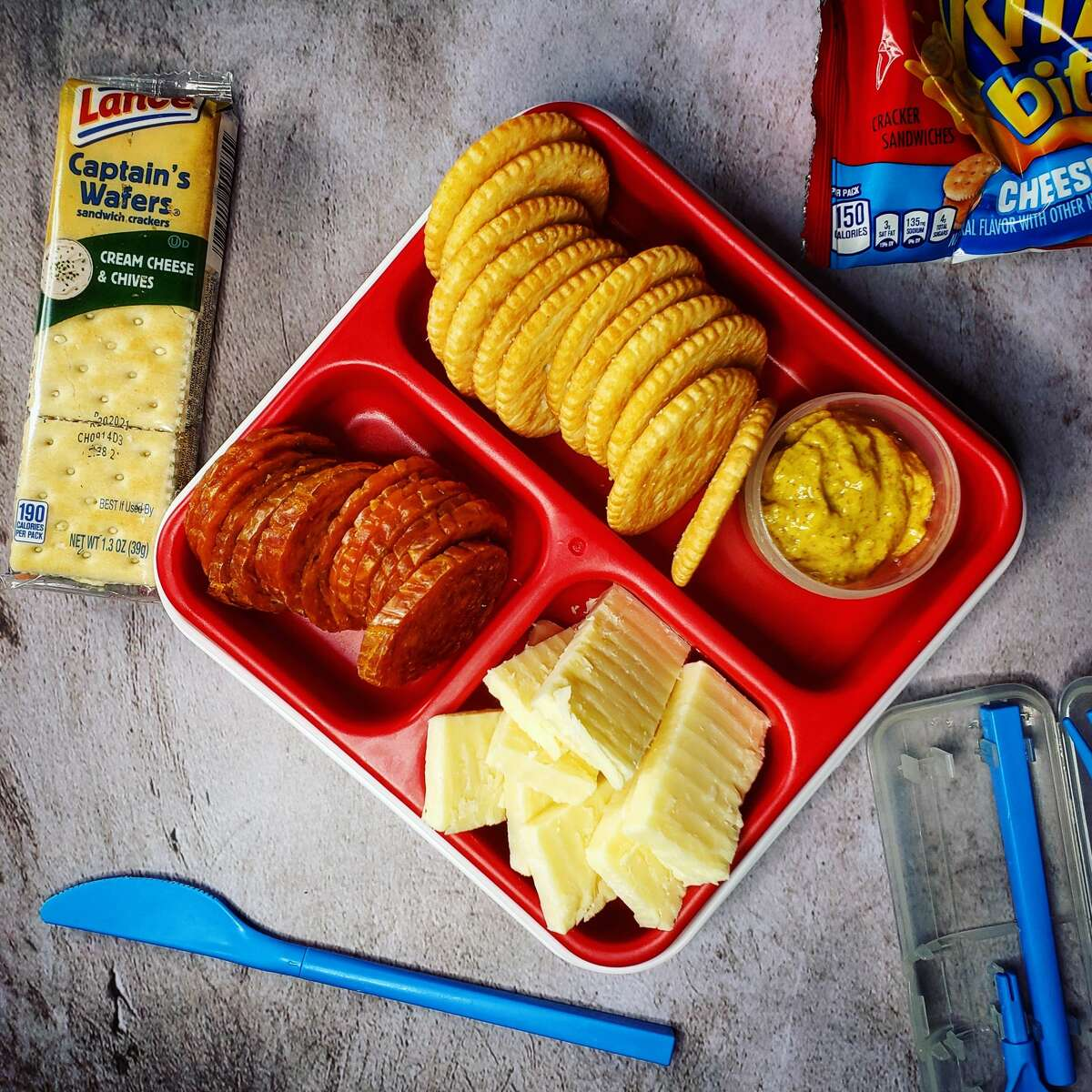 There's nothing wrong with a plate of cheese and crackers. No charcuterie experience necessary.