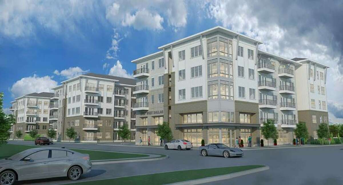 NRP Group is developing a 367-unit mixed-income apartment community at 2400 W. Dallas St. in Montrose. Completion is planned in early 2023.