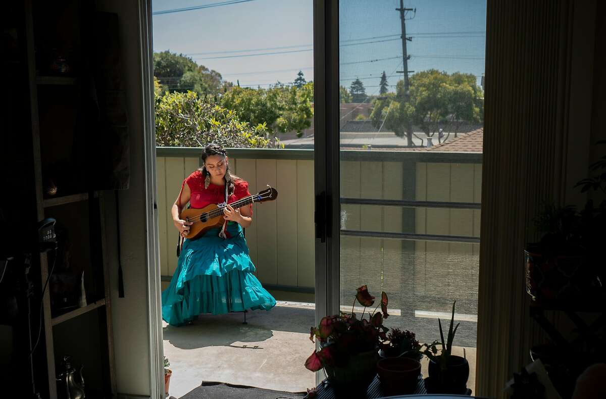 """Dolores """"Lolis"""" Garcia is a musician who specializes in traditional Mexican musical styles and instruments and is one of the 22 Bay Area artists featured in Creatives in Place."""