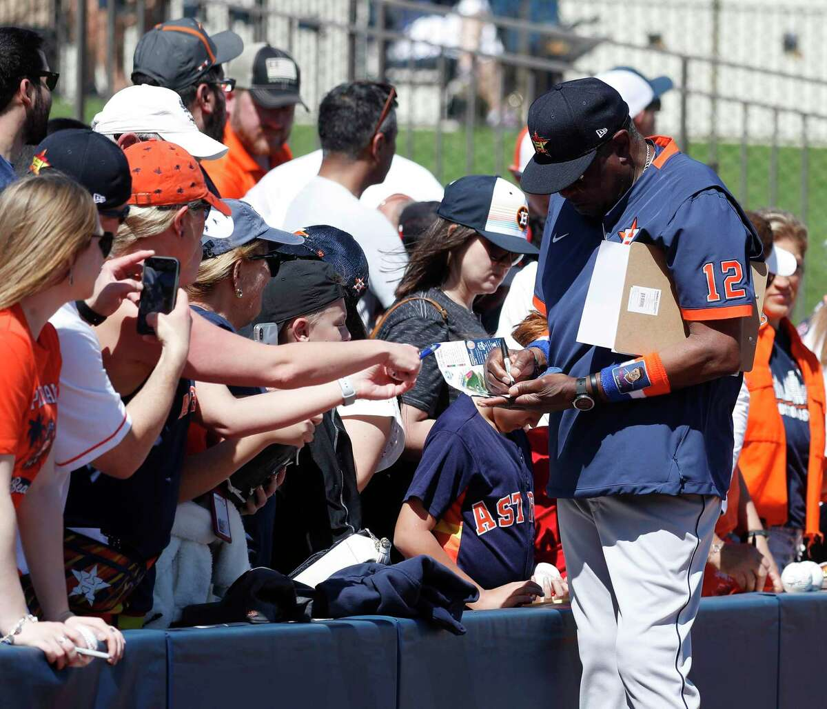 The Astros have sent out ticket pre-sales for Grapefruit League games this spring.