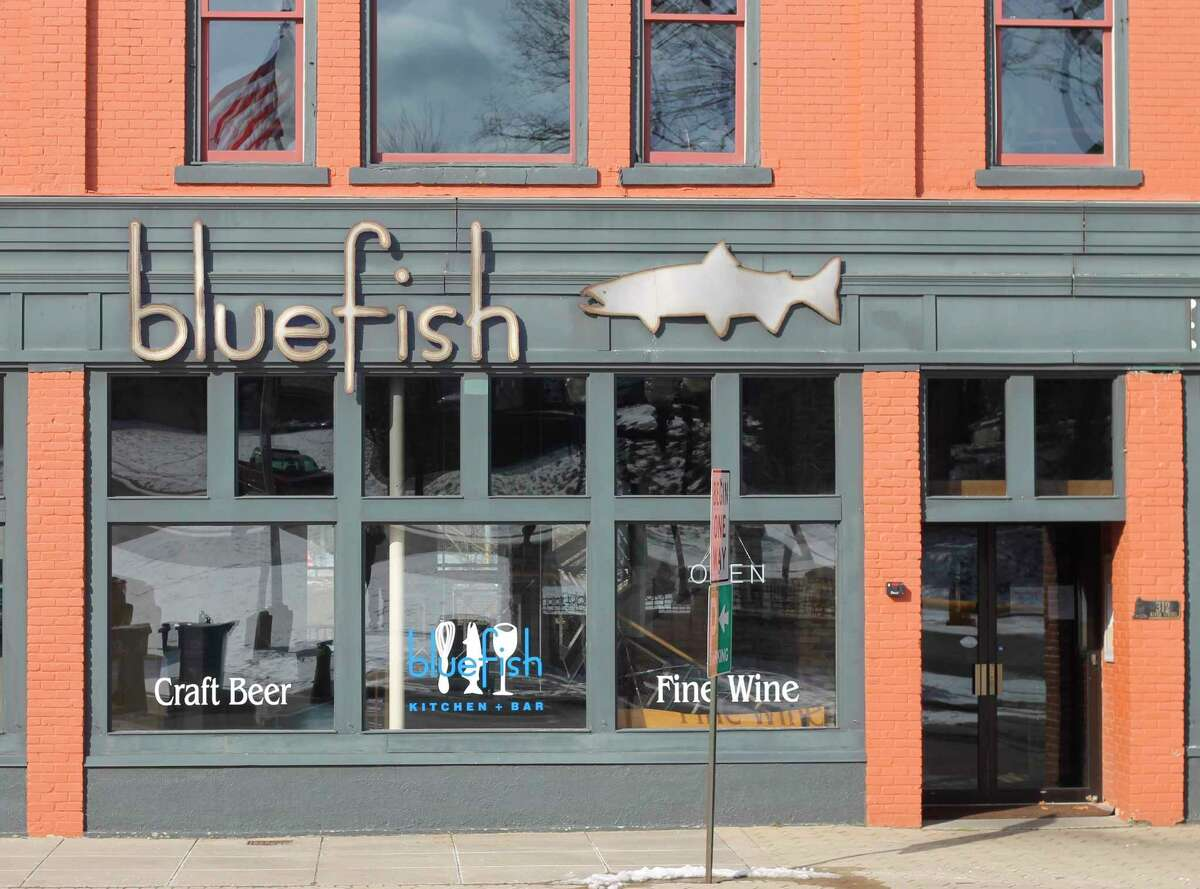 Blue Fish Kitchen and Barchef/owner Connie Freiberg did not reopen Monday due to concerns about restocking her restaurant only to have in-person dining prohibited again. (Kyle Kotecki/News Advocate)