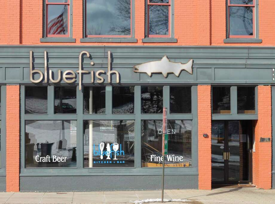Blue Fish Kitchen and Bar chef/owner Connie Freiberg did not reopen Monday due to concerns about restocking her restaurant only to have in-person dining prohibited again. (Kyle Kotecki/News Advocate)