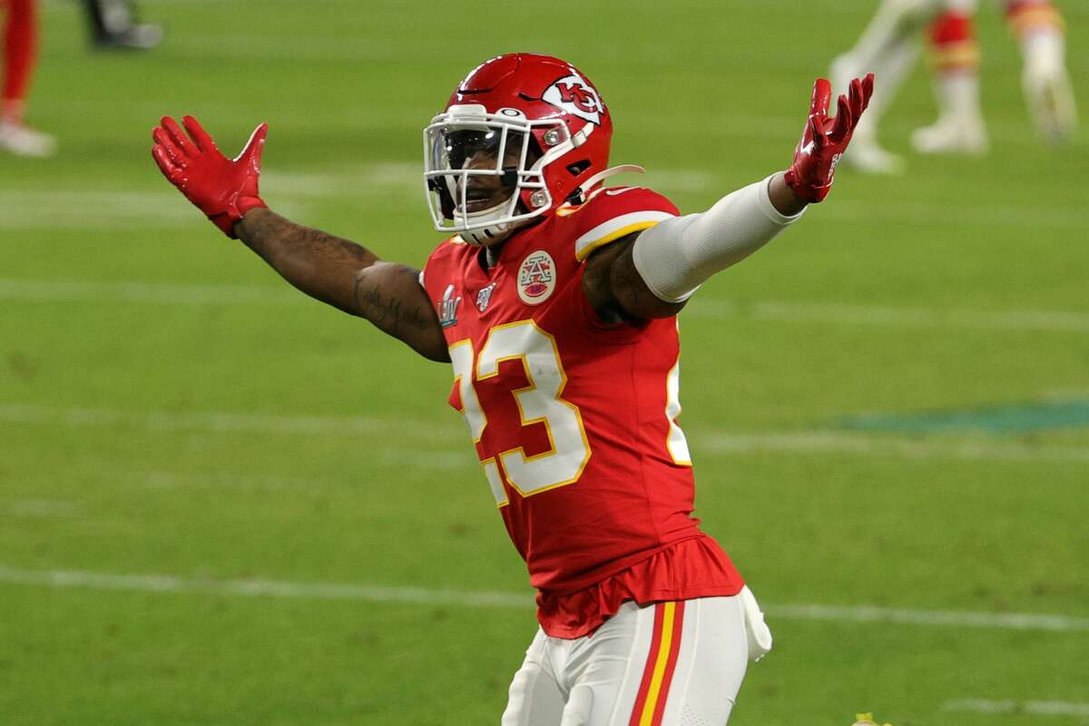 Armani Watts is a key reserve in the Chiefs' defensive backfield.