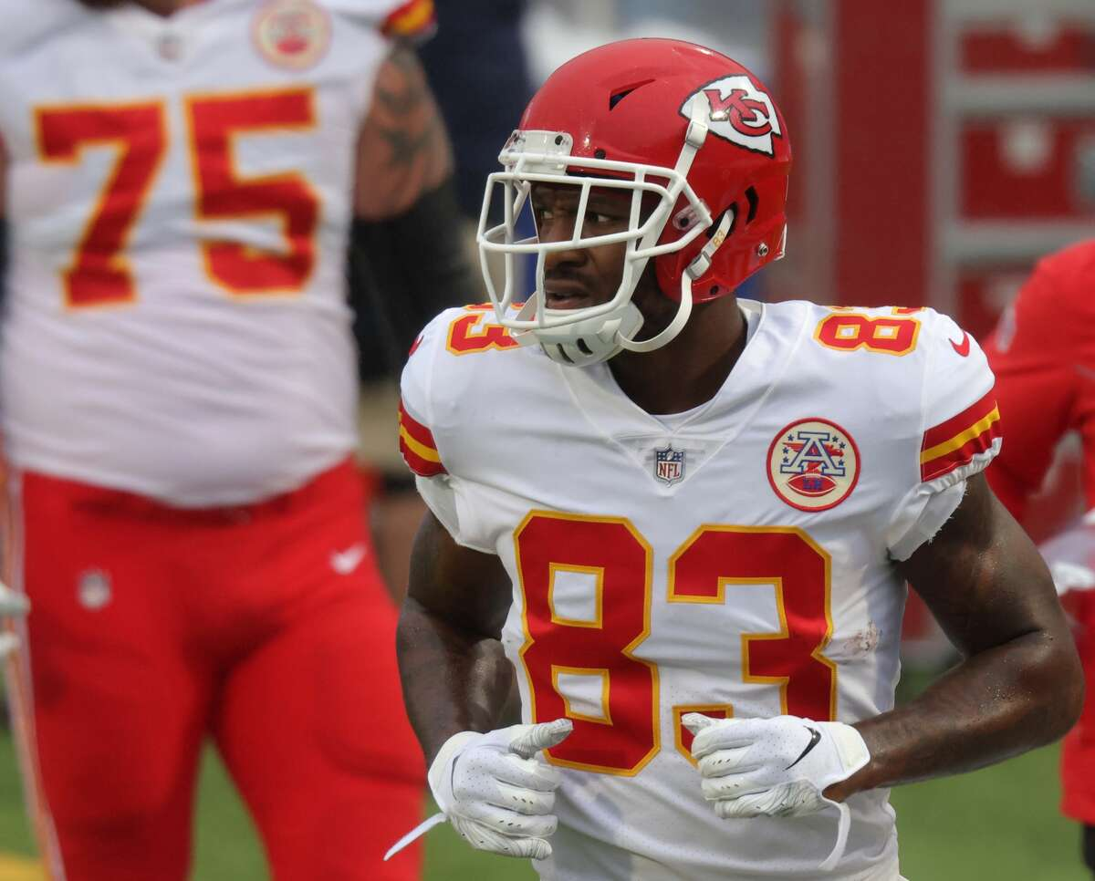 Ricky Seals-Jones has played in both of the Chiefs' playoff games this season.