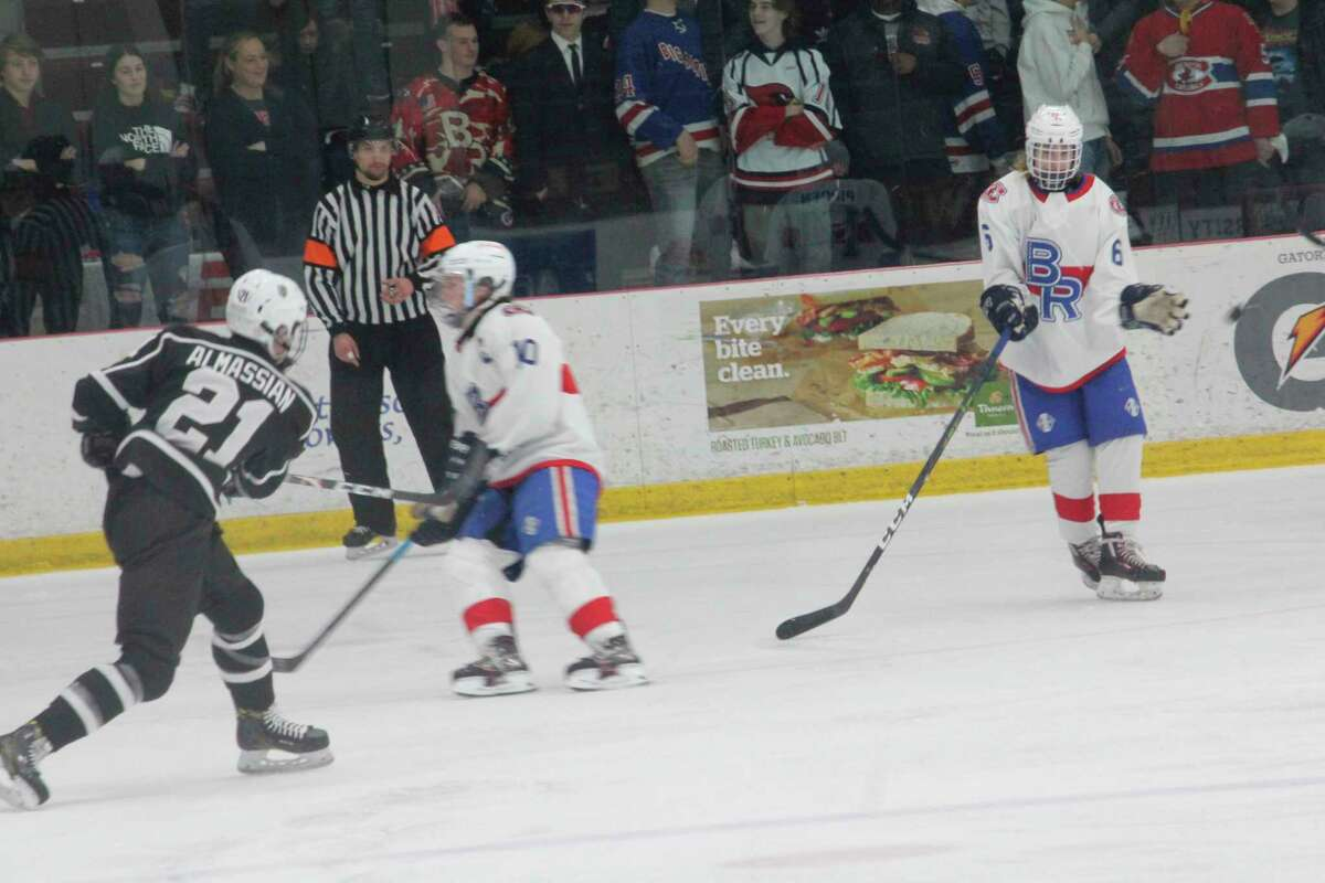 Big Rapids' hockey team is still waiting to play its first game of the season. (Pioneer file photo)