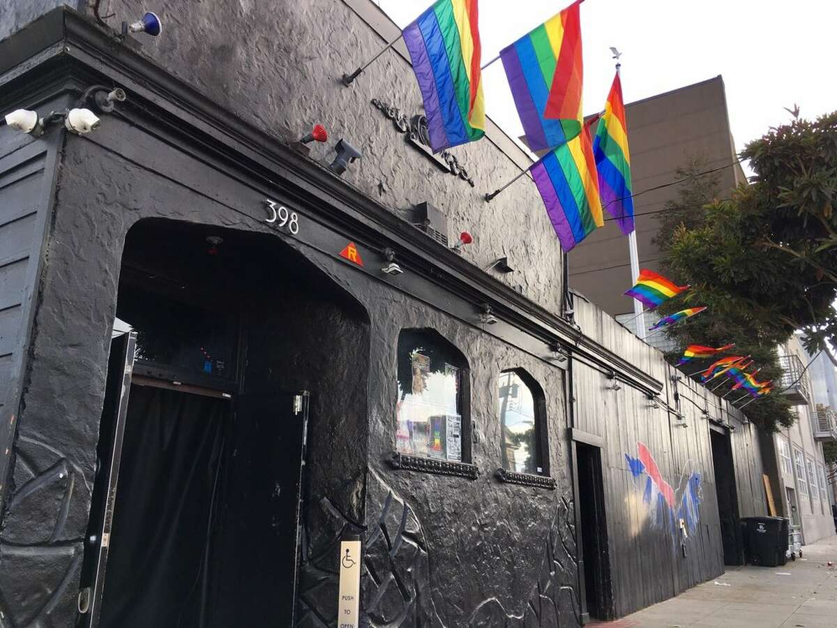 The exterior of SF Eagle gay bar in San Francisco's South of Market district.