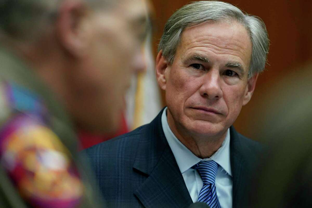 Texas Gov. Greg Abbott, right, plans to make a statewide announcement in Lubbock.
