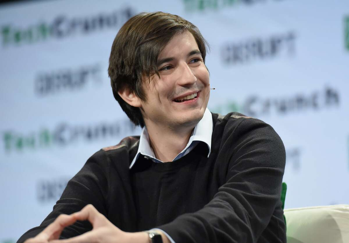 Co-founder and co-CEO of Robinhood Vladimir Tenev speaks onstage during TechCrunch Disrupt NY 2016 at Brooklyn Cruise Terminal on May 10, 2016 in New York City.