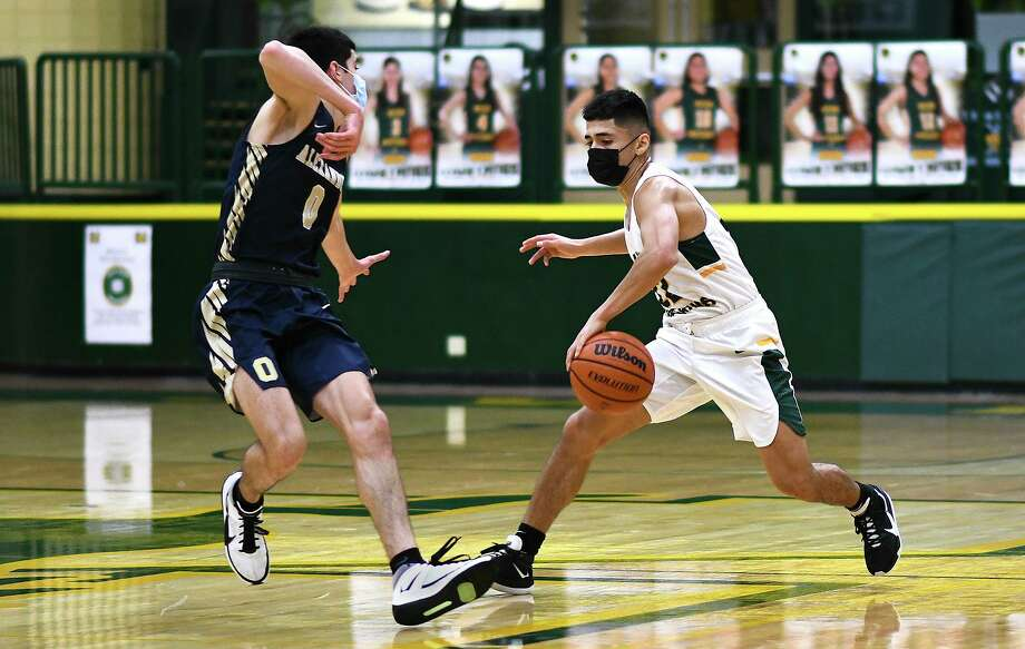 Adrien Medellin and the Nixon Mustangs are set to play three games this week. Photo: Danny Zaragoza /Laredo Morning Times