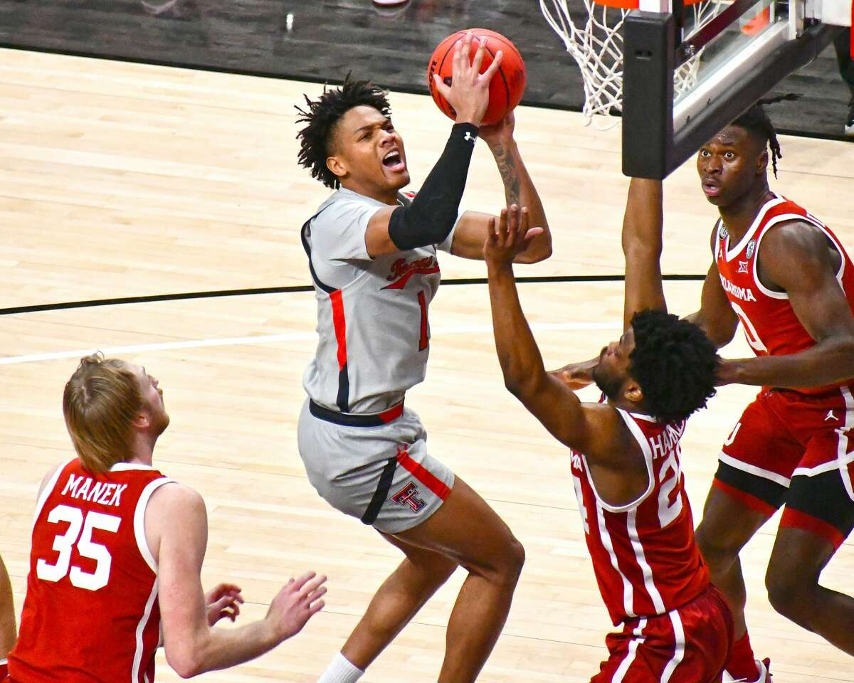 Terrence Shannon, Jr. had a team-high 15 points for the 13th-ranked Red Raiders.