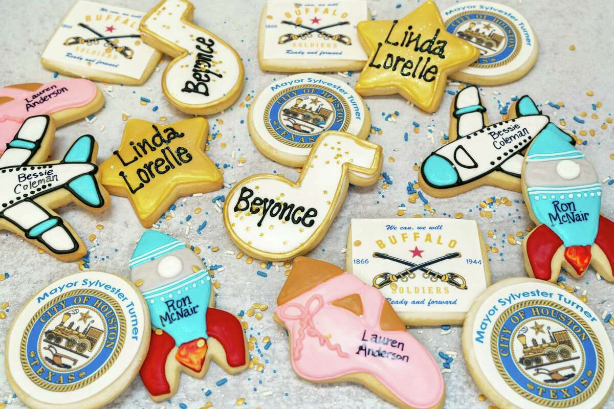 Bite into Beyoncé with Dessert Gallery's Black History Month cookies