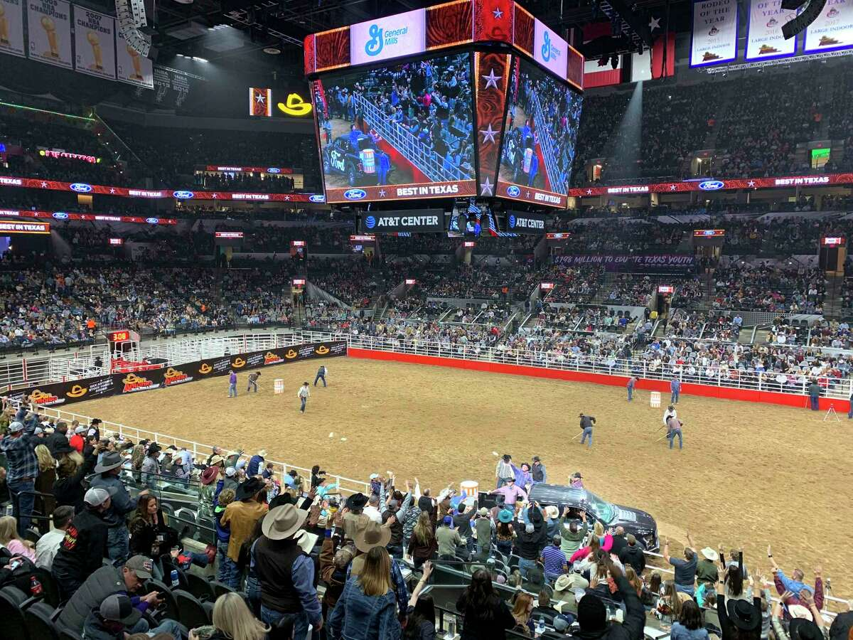 Thousands attend opening night of the 2019 San Antonio Stock Show & Rodeo at the AT&T Center. Although the rodeo has planned a scaled-down event in the smaller Freeman Coliseum next to the arena, Bexar County Judge Nelson Wolff has asked the event to consider postponing amid concerns about COVID-19.