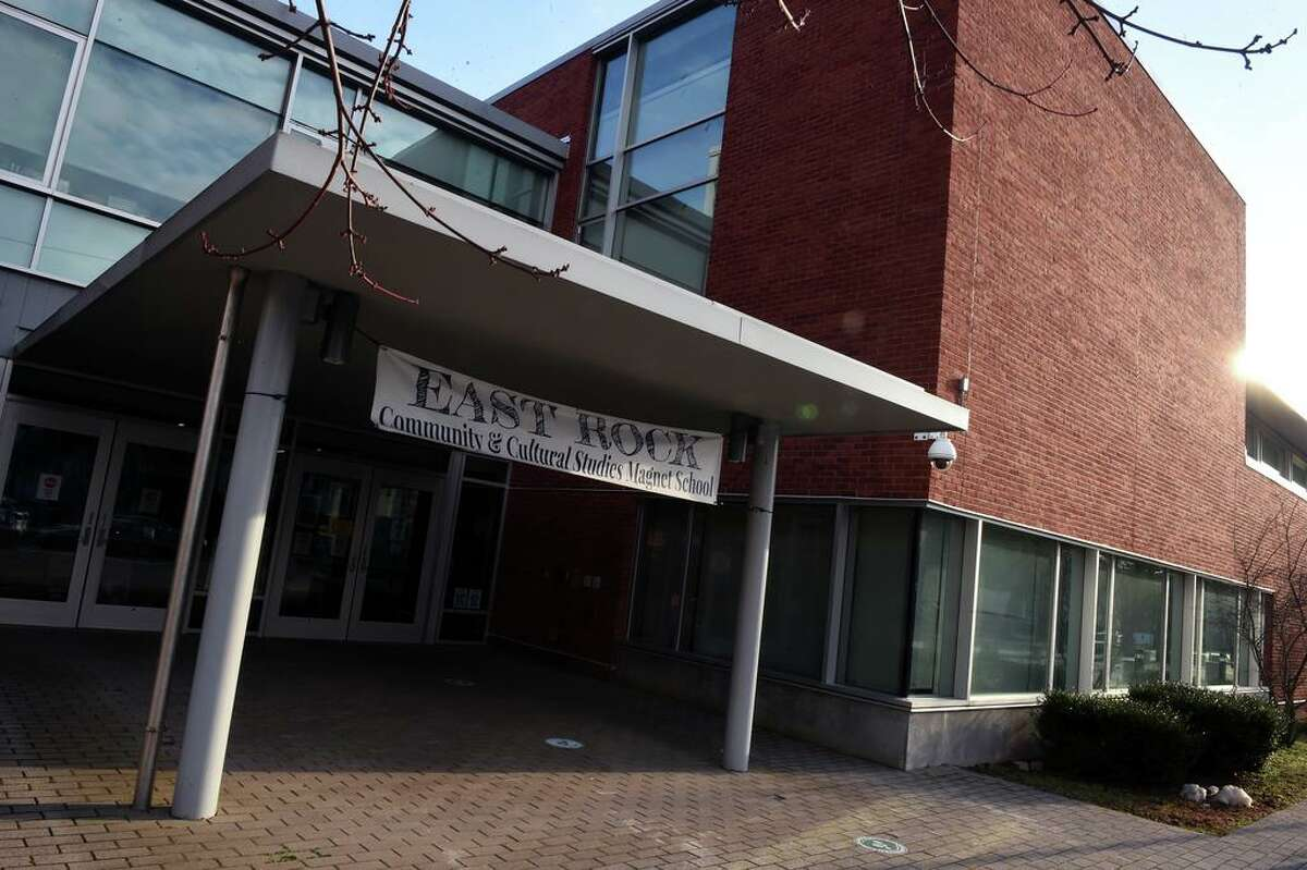 East Rock School in New Haven, January, 2021.