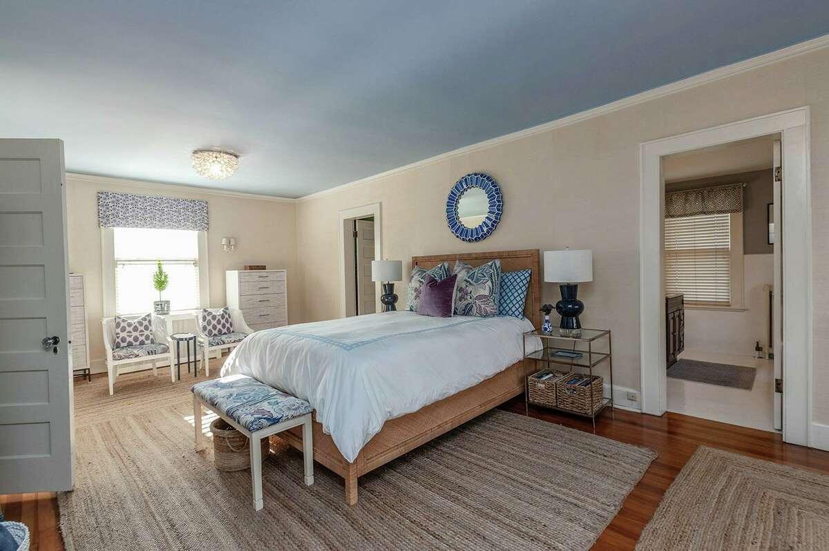 Master bedroom suite at 126 Jackman Avenue, Fairfield.