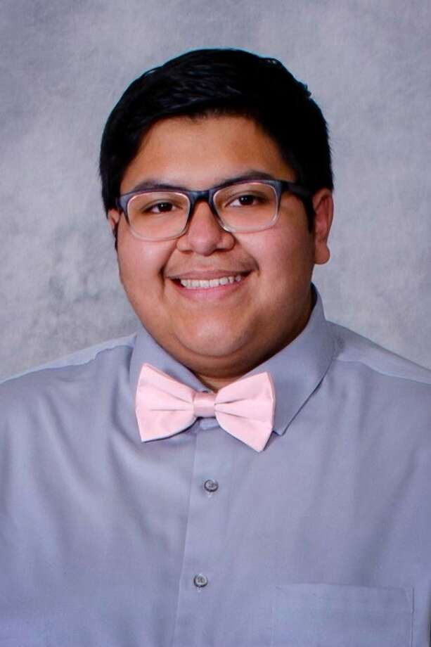 Caleb Aguirre, Plainview High School senior, has qualified to be a part of the Texas All-State Ensemble concerts for the third year in a row. Photo: Provided By Plainview ISD