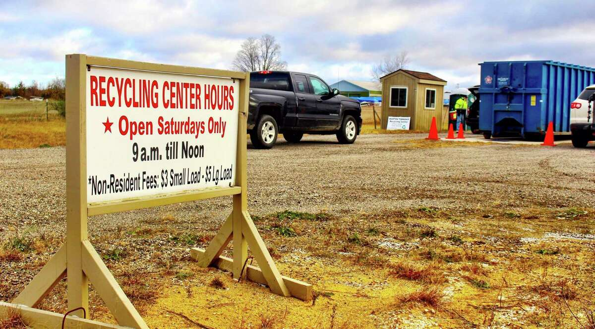 Morton Township Recycling Center is located at 8560 Midstate Drive in Mecosta and is open 9 a.m. to noon every Saturday. (Courtesy photo)