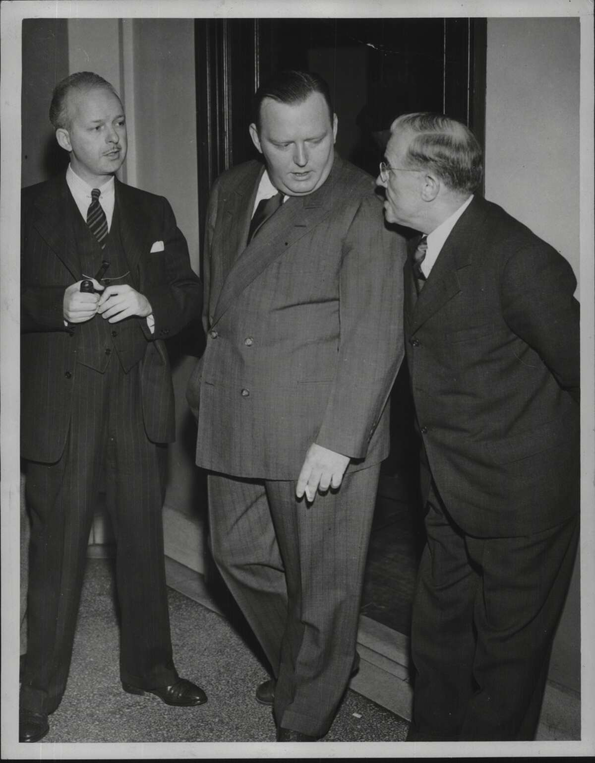 Herman Hoogkamp Years in office: 1940 - 1941 (Pictured right)