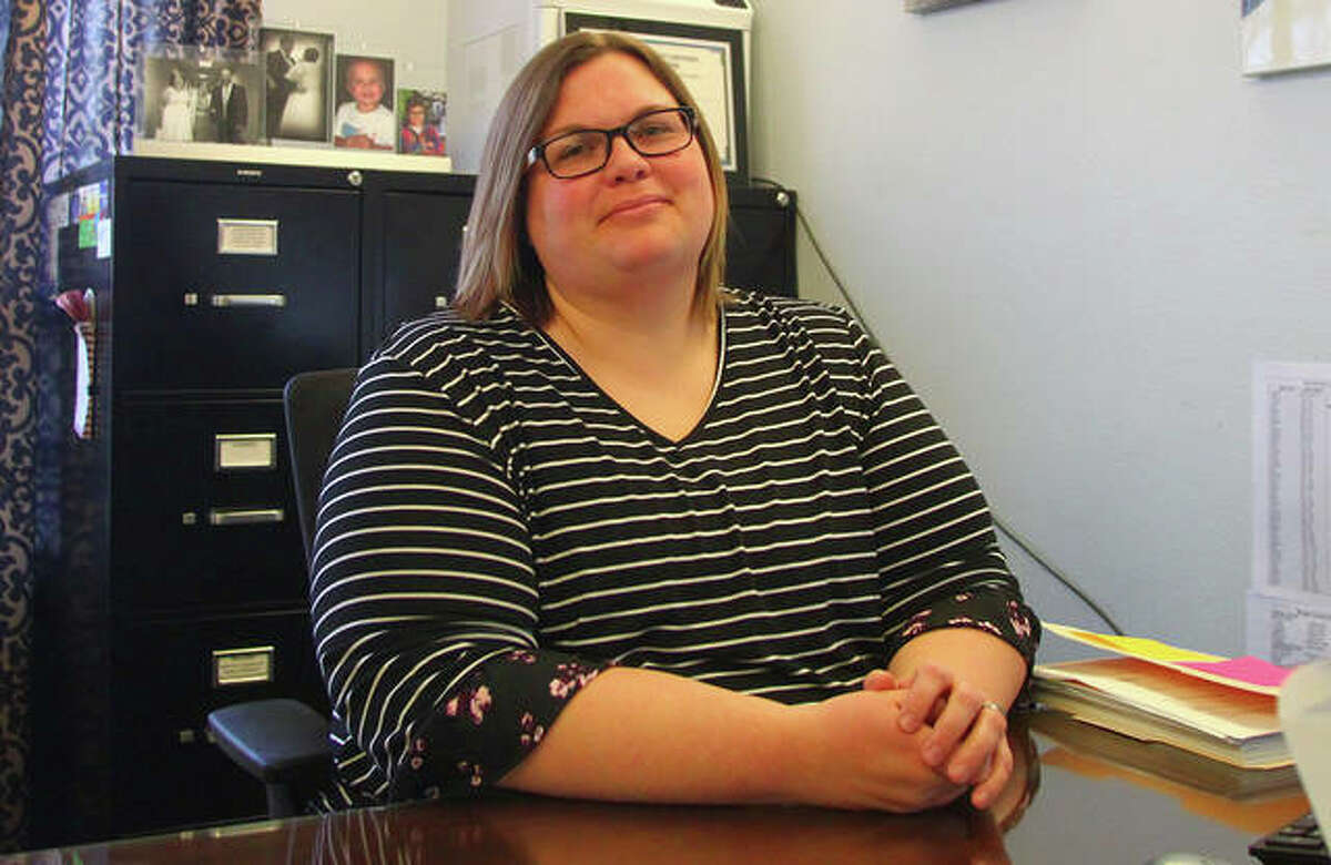 Morgan County Housing Authority executive director Debra Walter (above) and finance director Mary Jo Mast have been placed on paid administrative leave while the housing authority board investigates unspecified allegations.