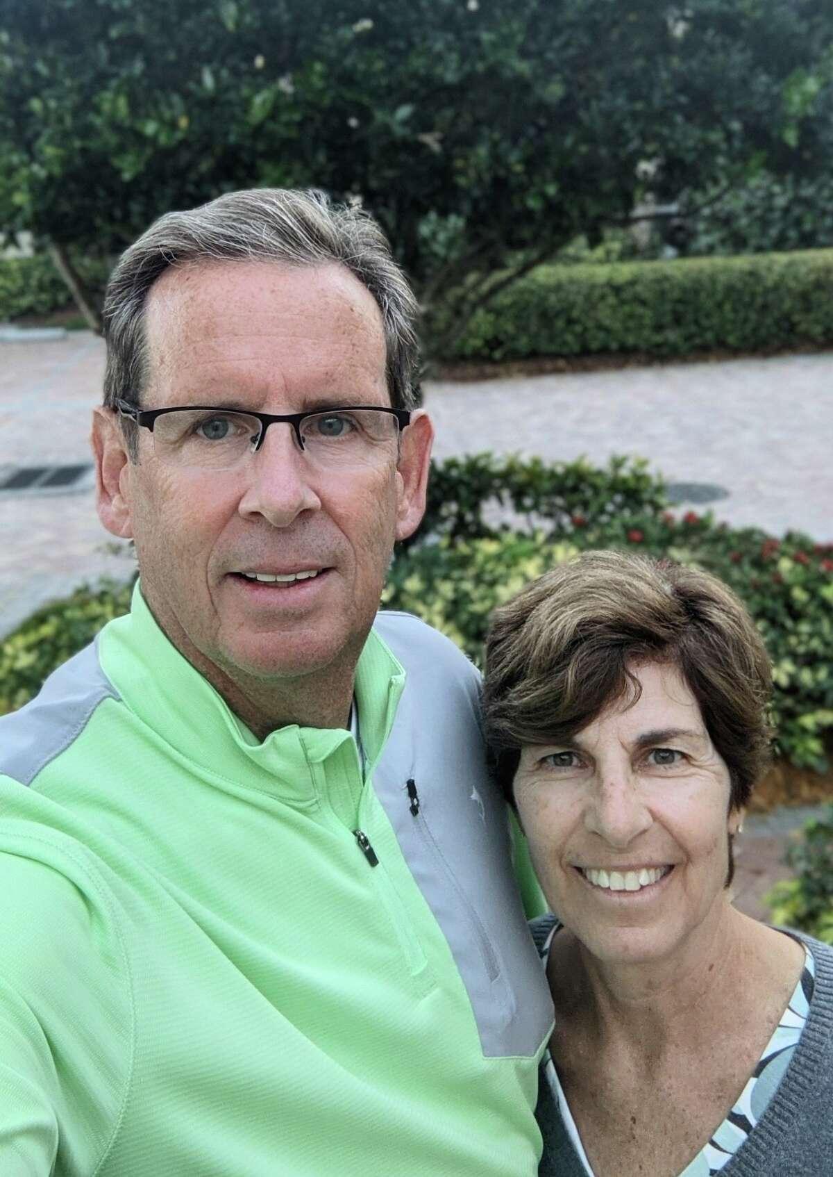Mike and Paula Freed