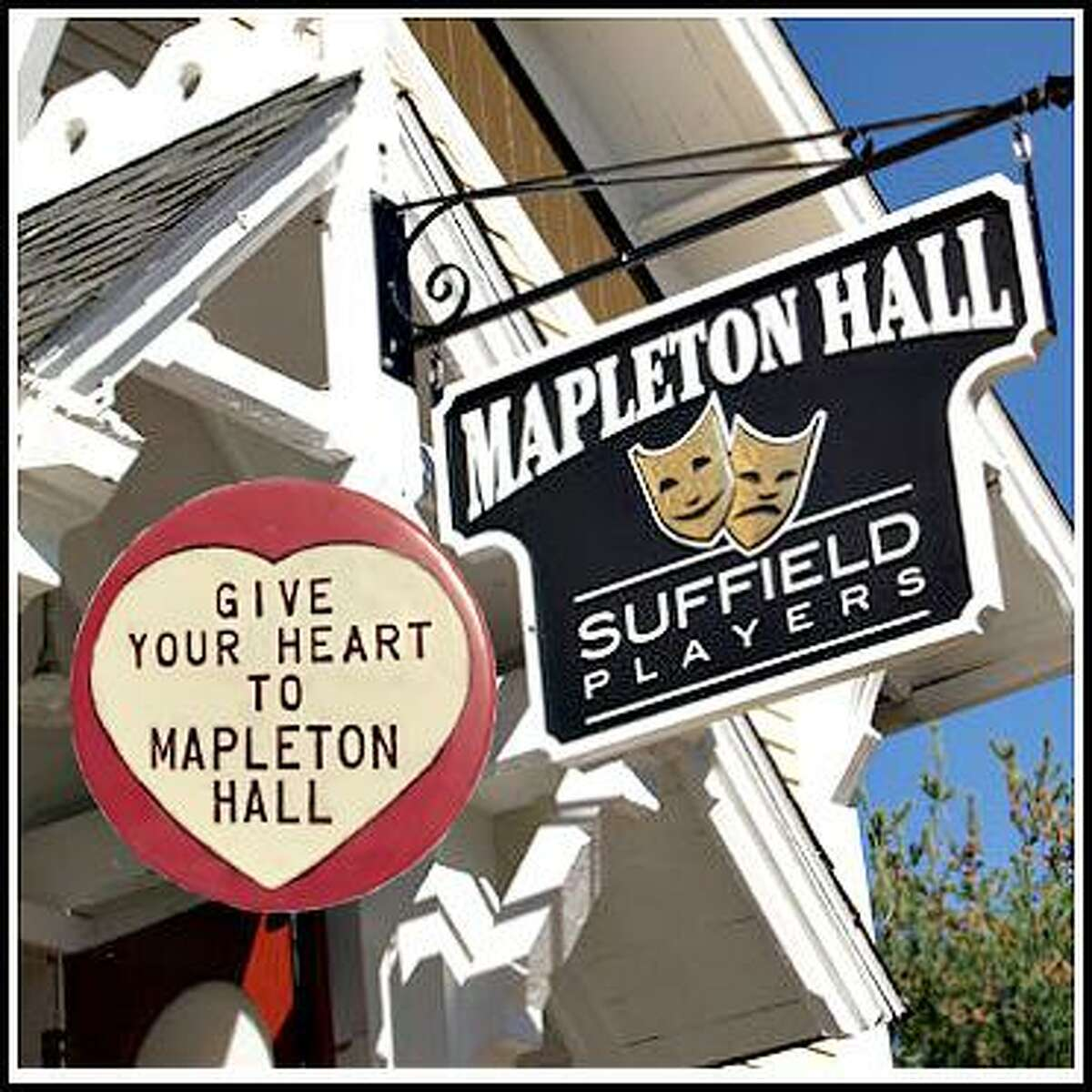Until they can welcome the public back to their home at Mapleton Hall, the Suffield Players are preforming virtually, with support from organizations like the Chamber of Commerce.