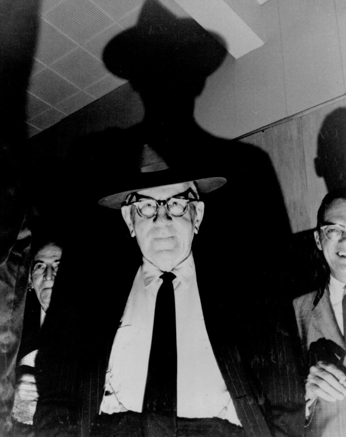 Albany County Democratic boss Dan O'Connell, undated. (Bernie Kolenberg, Times Union archives/Courtesy William Kennedy)